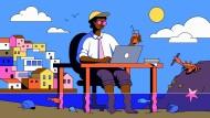 Der Technik sei Dank: Immer mehr Unternehmen stellen Menschen aus anderen Ländern ein. Das Internet macht es möglich.
