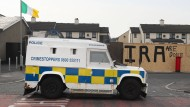 Polizeiauto in Londonderry (Archivbild)