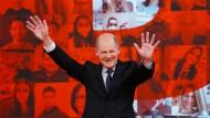 96,2 Prozent für Scholz: Ein Kandidat, kein Gegner mehr