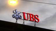 Das Logo der Schweizer Bank UBS