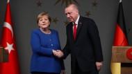 Merkel und Erdogan am Freitag in Istanbul