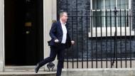 David Frost, Großbritanniens Chef-Unterhändler für den Brexit  vor einem Treffen in Downing Street im September