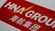 Das Logo der HNA-Gruppe