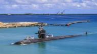 Ein Atom-U-Boot der USA