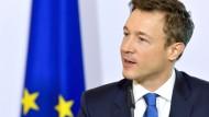 Vorsitzender des EU-Ministerrates: Gernot Blümel aus Österreich
