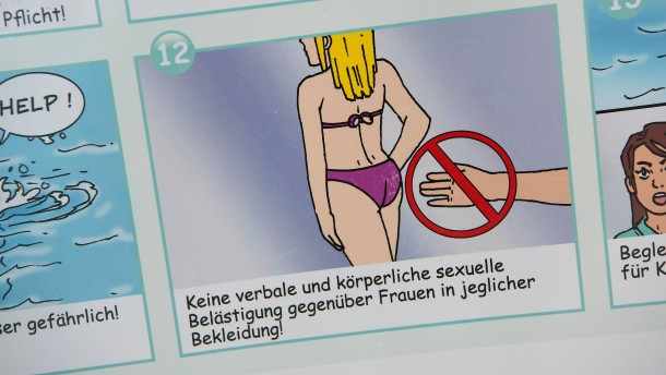 Benimm-Regeln im Schwimmbad