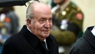 Der frühere spanische König Juan Carlos I.