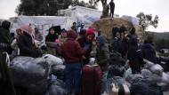 Geflüchtete auf der griechischen Insel Lesbos