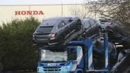 Im britischen Swindon montiert Honda das Modell Civic.