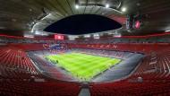 """Es wäre möglich, dass der FC Bayern München seine Heimspiele ohne Publikum als sogenannte """"Geisterspiele"""" austragen muss."""