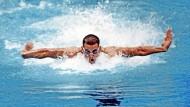 """""""Zu Hause wartete die Rechnung"""": Matt Biondi 1988 in Seoul, wo er fünf Goldmedaillen gewann."""