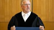 Der Vorsitzende Richter im Lübcke-Prozess, Thomas Sagebiel.