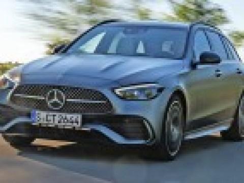 Erste Probefahrt in der neuen C-Klasse von Mercedes-Benz