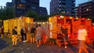 Ein neues Geschäftsmodell auf einem Festival in Frankfurt