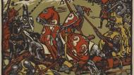Die Schlacht von Morgarten im November 1315, hier dargestellt von Jules Courvoisier, gilt als wichtige Etappe auf dem Weg zum Schweizer Staat.