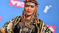 Folkloristisch angehaucht: Madonna bei den MTV Video Music Awards 2018