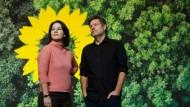 Die Grüne Doppelspitze: Annalena Baerbock und Robert Habeck