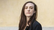 Die italienische Schriftstellerin Giulia Caminito