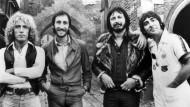 Nicht immer einer Meinung: Roger Daltrey, Pete Townshend, John Entwhistle und Keith Moon (von links) als The Who, 1975