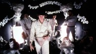 "Dank ""Ludwig van"" in Prügellaune: Alex und Droogs in Stanley Kubricks Klassiker ""A Clockwork Orange""."
