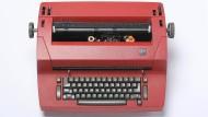Das geheime Werkzeug der frühen Jahre als Schriftsteller: Reinhard Kaiser-Mühleckers Schreibmaschine stammte von seiner Schwester.