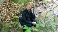 Sie schaut genau hin: Sandra Borgmann spielt die Fallanalytikerin Julia Durant.