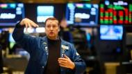 Zu unsicher: Börsenhektik wollen Institutionelle derzeit eher weniger.