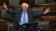 Bernie Sanders, Präsidentschaftsbewerber und Investorenschreck