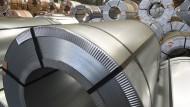Verzinkte Feinblech-Coils der Salzgitter AG