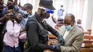 Paul Rusesabagina vor Gericht in Ruandas Hauptstadt Kigali am 14. September