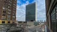 Die meisten arbeiten von zu Hause: Das UN-Hauptquartier in New York nach dem Ausbruch der Corona-Pandemie