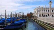 Rote Zone: Wegen der Corona-Pandemie sind der Tourismus und das öffentliche Leben in Venedig derzeit fast komplett heruntergefahren.