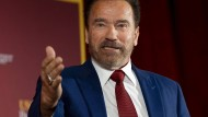 Ausgefüllt mit drei Karrieren: Arnold Schwarzenegger