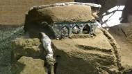 Sensationsfund in Pompeji: Den Raubgräbern nur knapp entkommen