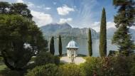 Menschenleere im Park der Villa Melzi am Comer See