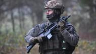 Bei vielen Soldaten nach wie vor beliebt: Das Sturmgewehr G-36
