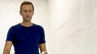 Mittlerweile aus der Berliner Charité entlassen: Alexej Nawalnyj, hier auf einem Bild vom vergangenen Samstag