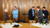 Abwehrschirm: Stammtisch der Werte-Union in Helmstedt im März 2019