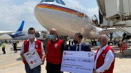 Außenminister Heiko Maas übergibt bei seinem Besuch in Beirut am Mittwoch einen ersten Teil der deutschen Soforthilfe an das Rote Kreuz.
