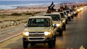 IS-Terroristen in Libyen