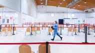 Die Mutante verändert alles: Das Impfzentrum von Trier