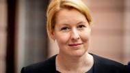 Franziska Giffey hat Probleme mit ihrer Zitierweise: die Ministerin im Juni in Berlin