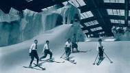 """Der """"Schneepalast"""" in Berlin sollte schon 1927 die Lust auf Wintersport wecken."""