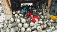 Bierkönige: Wahrscheinlich haben die Herrschaften das alles selbst ausgetrunken.
