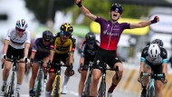 """Bisher nur Zuckerstückchen: Demi Vollering gewinnt bei """"La Course by Le Tour"""""""
