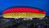 Die deutschen Vorrundenspiele bei der EM finden in München statt. (Bild von 2016)