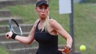 Endstation Viertelfinale: Favoritin Sarah Gronert scheitert bei den Hessenmeisterschaften.