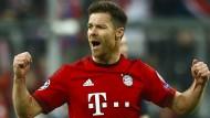 Einst für München in der Bundesliga am ball: Xabi Alonso, hier 2016