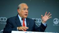 OECD-Generalsekretär Ángel Gurría