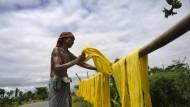 Baumwollherstellung in Bangladesch